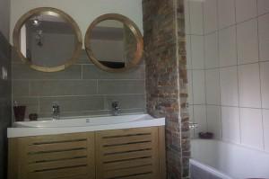 La salle de bains d'en bas